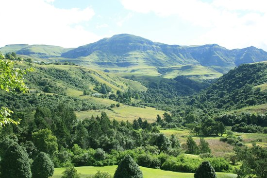 Drakensberg Sun Resort: View from our room