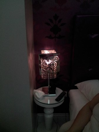 Athens Diamond Homtel: Lamp for young girl maybe..