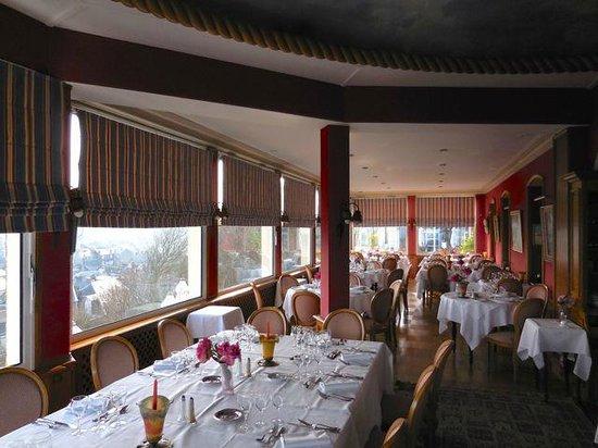 Hotel Dormy House : Restaurant mit Aussicht