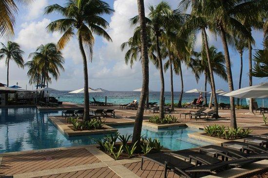 Curacao Marriott Beach Resort & Emerald Casino: the pool