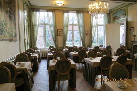 Hotel Jan Brito: 朝食会場