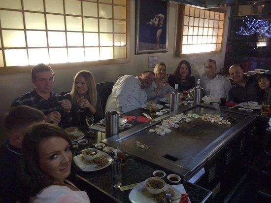 Wasabi Tepanyaki: Great night out at wasabi in leeds!