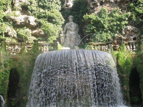 Villa d'Este : Фонтан