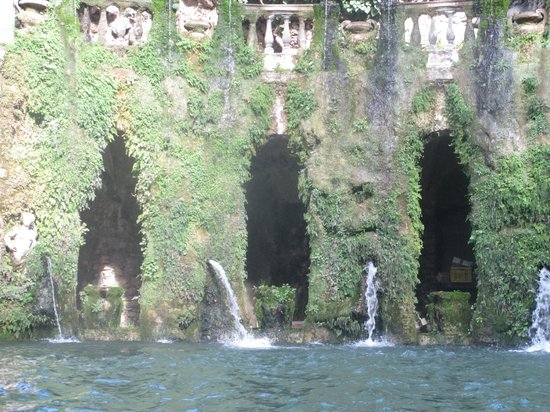 Villa d'Este : Фонтаны
