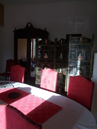 Au Domisiladore: Dining room
