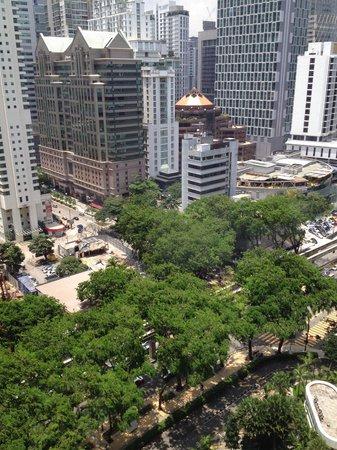 Shangri-La Hotel Kuala Lumpur : View from room 1905