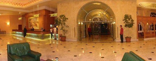 Mahdia Palace Thalasso: welcoming foyer
