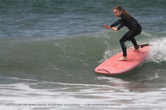 San Diego Surfing Academy Lessons: surfs up