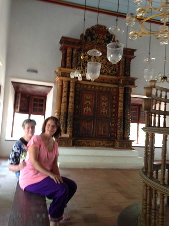 Carnival Tours & Travels: synagogue north of kochi