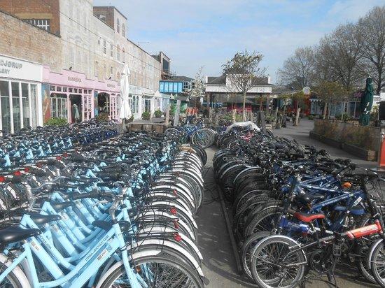 Baja Bikes London: start punt fiets tour