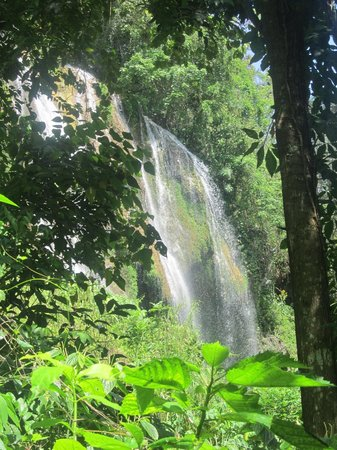 Topes de Collantes: First waterfall sight.