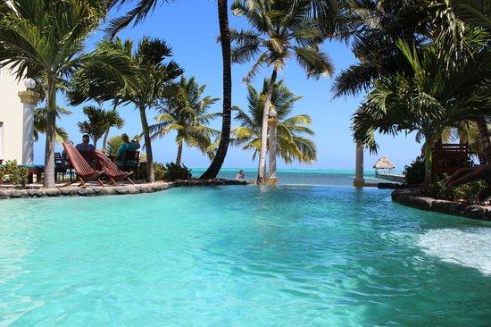 Pelican Reef Villas Resort: View from the pool bar