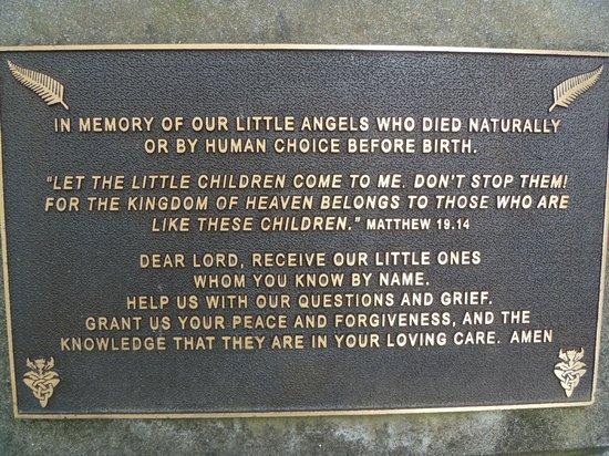 Waipu Museum: Memorial to young children II