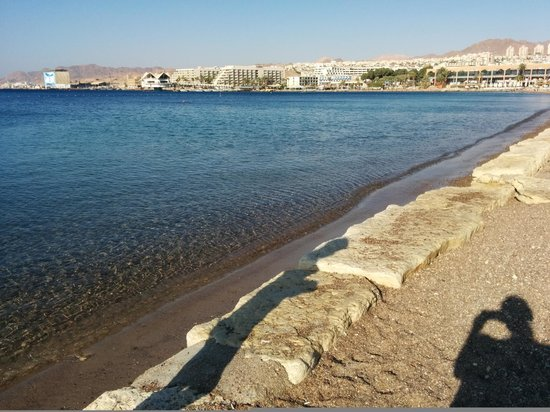 Leonardo Plaza Hotel Eilat: The beach and the sea