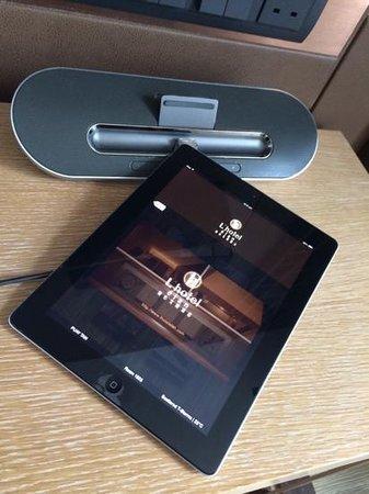 L'hotel elan: Complimentary use of ipad