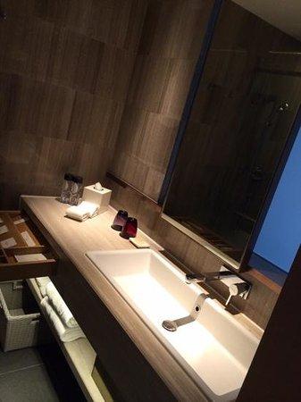 L'hotel elan: Posh looking toilet