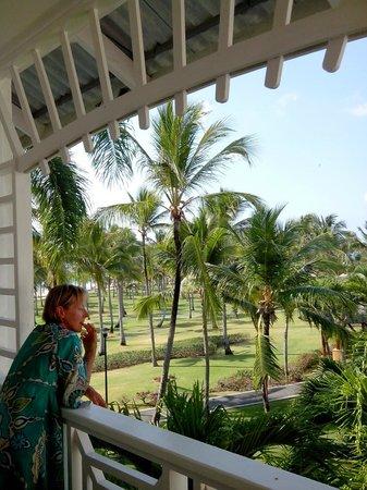 Club Med Punta Cana : vue du 2ème et dernier étage à Pissaro