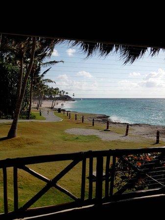 Club Med Punta Cana : vue de notre table à l'Hispaniola