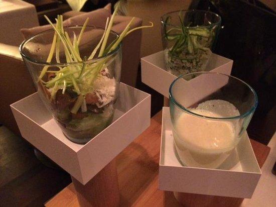 M Lounge: Petites entrées
