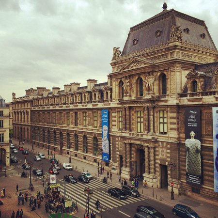 Hotel du Louvre : View from the Room (The Louvre)
