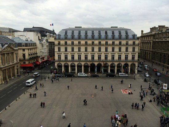 Hotel du Louvre : View from the Room