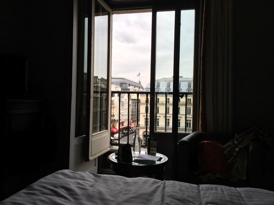 Hôtel du Louvre: View from the Room