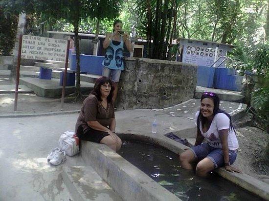 El Valle Panama Hot Springs: Pileta para los pies