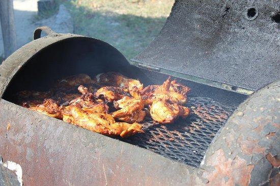 Robin's Kitchen : Chicken on the barbi