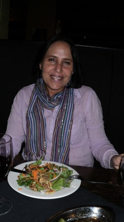 Savoury's: Salada com nozes