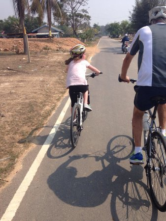 Hua Hin Bike Tours: My 8 year on the dolphin bay ride.