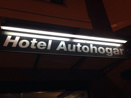 Hotel Auto Hogar: Insegna