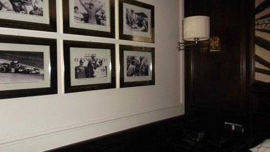 Hotel de la Ville : Photographs of all Formula One drivers