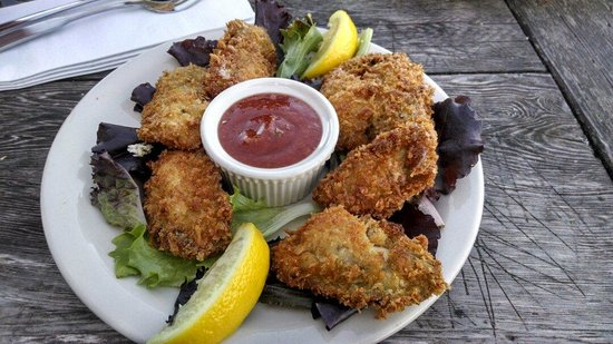 Sirens Pub: Pan fried oyster