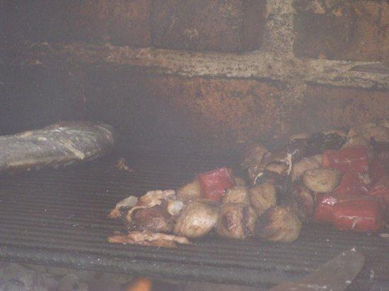 Melia Buenavista: food on pool grill - YUMMY!