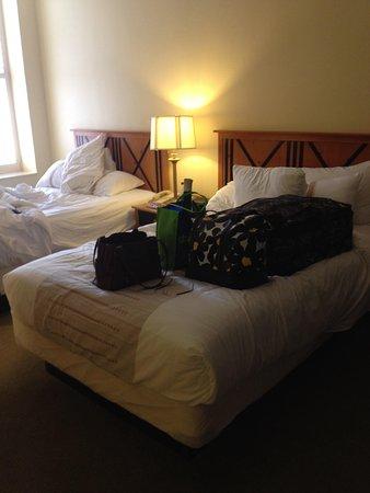 Crockett Hotel : Comfy beds