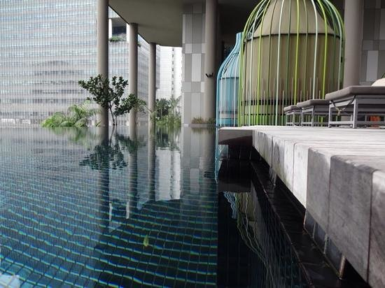 PARKROYAL on Pickering: the pool parkroyal
