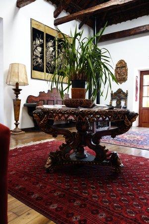 Hotel Casa San Marcos: Lounge area