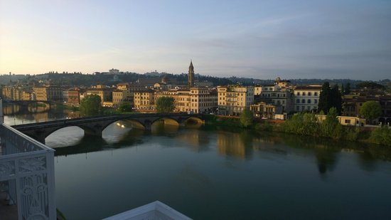 The Westin Excelsior Florence : Blick aus Zimmer 408