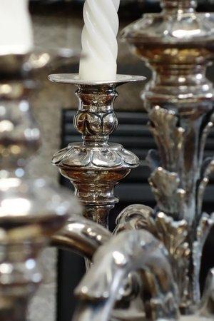 Hotel Casa San Marcos: Decorative silver