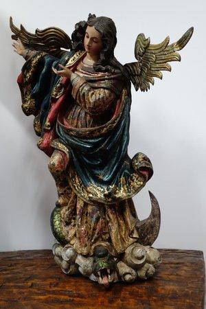 Hotel Casa San Marcos: Decorative statue
