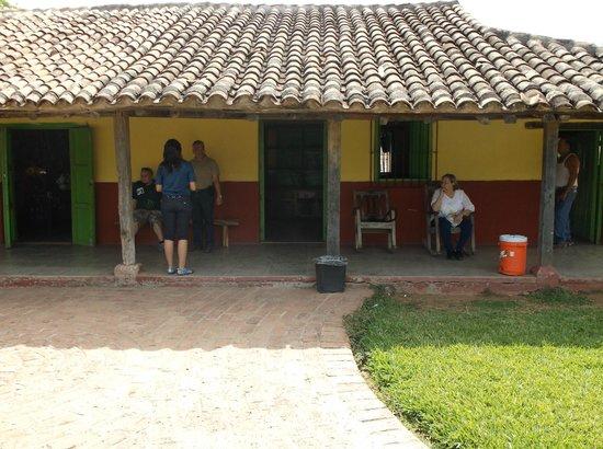 Huana Coa Canopy Adventure: Staff area
