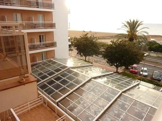 Hotel Sorra Daurada Splash : Вид из номера