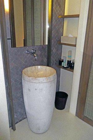 Hansar Samui Resort : Das Waschbecken
