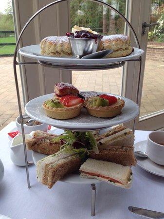 Great Hallingbury Manor: Afternoon tea selection