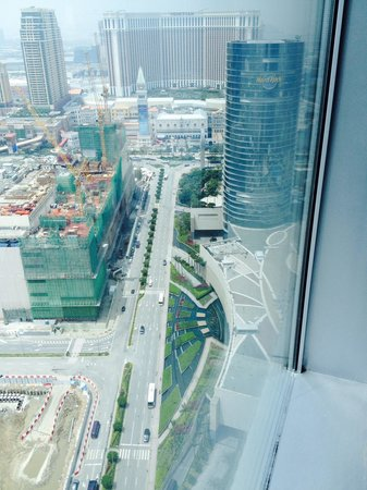 Grand Hyatt Macau : View from room 31st floor