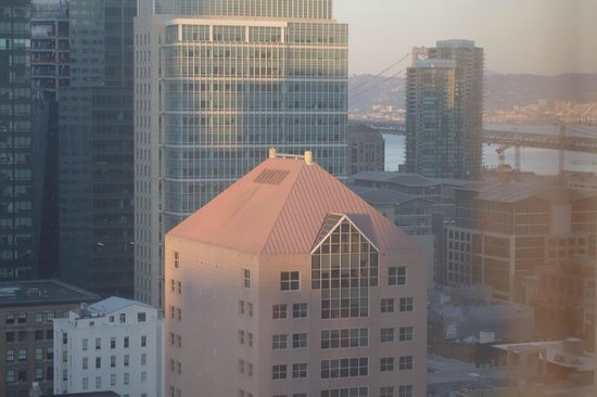 Park Central Hotel San Francisco: View from room as sun was setting