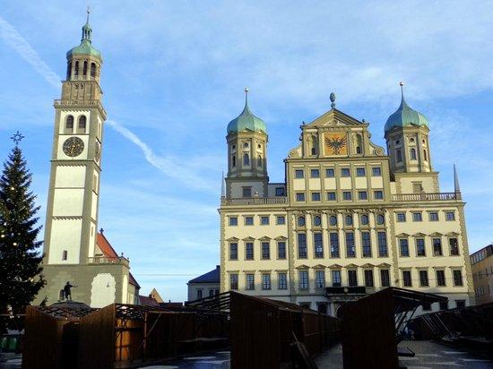 Augsburger Rathaus: Prefeitura de Augsburg