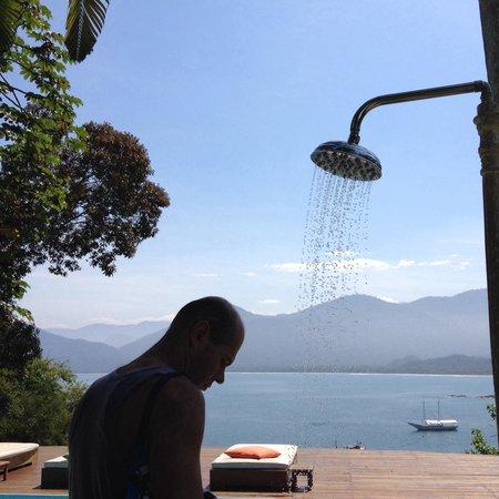 Pousada Picinguaba: Vista da piscina