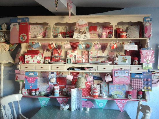 Mad Hatters Tea Shop: Lots of cute things to buy at mad hatters teashop!