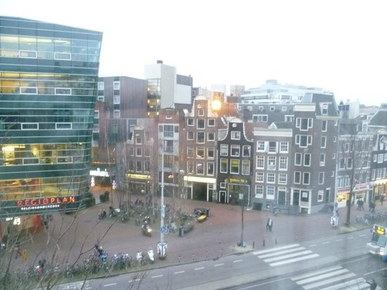WestCord City Centre Hotel Amsterdam: the view